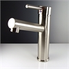 Savio Single Hole Mount Bathroom Vanity Faucet - Brushed Nickel