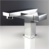 Orba Single Hole Mount Bathroom Vanity Faucet - Chrome