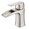 Fortore Single Hole Mount Bathroom Vanity Faucet - Brushed Nickel