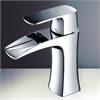 Fortore Single Hole Mount Bathroom Vanity Faucet - Chrome