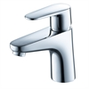 Diveria Single Hole Mount Bathroom Vanity Faucet - Chrome