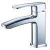 Fiora Single Hole Mount Bathroom Vanity Faucet - Chrome
