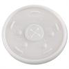 Dart Plastic Cold Cup Lids, 24oz, Translucent, 500/Carton