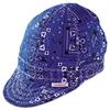 Comeaux Single Sided Soft Brim Comfort Crown Cap, Cotton, Assorted Colors, Size 7 3/4