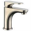 Dawn® AB37 1565BN Single-lever lavatory faucet, Brushed Nickel (Standard pull-up drain with lift rod D90 0010BN included)