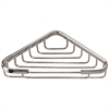 "6802 Triangle Basket 6-1/2"" x 6-1/2"" Chrome"