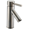 AB33 1031BN Single-lever lavatory faucet, Brushed Nickel (Standard pull-up drain with lift rod D90 0010BN included)