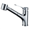 AB50 3709C Single-lever pull-out spray kitchen faucet, Chrome