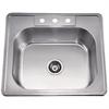 AST103 Top Mount Single Bowl Sink