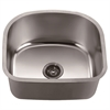 ASU105 Undermount Cresent Single Bowl Sink