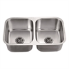 Dawn® ASU109 Undermount Equal Double Bowl Sink