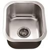 Dawn® BS1215 Undermount Single Bowl Bar Sink