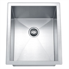 Dawn® BSQ131610 Undermount Square Single Bowl Bar Sink