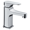 Dawn® AB52 1662C Single-lever lavatory faucet, Chrome (Standard pull-up drain with lift rod D90 0010C included)