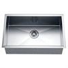 DSQ241607 Undermount Square Single Bowl Sink