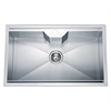 Dawn® DSQ2817 Dual Mount Single Bowl Square Sink with 1 Hole