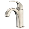 AB04 1275BN Single-lever lavatory faucet, Brushed Nickel (Standard pull-up drain with lift rod D90 0010BN included)