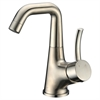 Dawn® AB39 1172BN Single-lever lavatory faucet, Brushed Nickel (Standard pull-up drain with lift rod D90 0010BN included)
