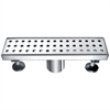 "Dawn® LTS120304 Thames River Series - Linear Shower Drain 12""L"