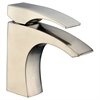 AB77 1586BN Single-lever lavatory faucet, Brushed Nickel (Standard pull-up drain with lift rod D90 0010BN included)