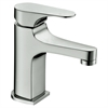 AB52 1662BN Single-lever lavatory faucet, Brushed Nickel (Standard pull-up drain with lift rod D90 0010BN included)