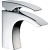 Dawn® AB77 1586C Single-lever lavatory faucet, Chrome (Standard pull-up drain with lift rod D90 0010C included)
