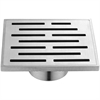 "Dawn® SAN050504 Amazon River Series - Square Shower Drain 5""L"