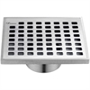 "SBE050504 Brisbane River Series - Square Shower Drain 5""L"