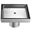 "Dawn® SCO050504 Colorado River Series - Square Shower Drain 5""L"