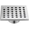 "SMI050504 Mississippi River Series - Square Shower Drain 5""L"