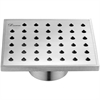 "Dawn® SNE050504 Nile River Series - Square Shower Drain 5""L"