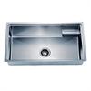 Dawn® SRU311710 Undermount Small Corner Radius Single Bowl Sink With Basket (BK710)