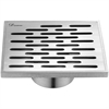 "Dawn® SYE050504 Yangtze River Series - Square Shower Drain 5""L (Casting technique & screw in the base)"