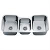"TDS4520 Undermount Triple Bowl Sink (46"" x 21"" x 9.5"")"
