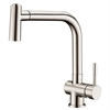 AB50 3670BN Single-lever pull-out spray sink mixer, Brushed Nickel