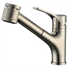 AB50 3709BN Single-lever pull-out spray kitchen faucet, Brushed Nickel