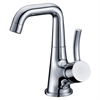 AB39 1172C Single-lever lavatory faucet, Chrome (Standard pull-up drain with lift rod D90 0010C included)