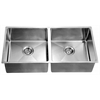 XSR321616 Undermount Extra Small Corner Radius Equal Double Bowls