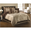 Hallmart Decadence 10 pc King Comforter Set, Gold/Ivory