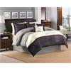 Glenberry 7pc King Comforter Set, Plum