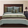 Jackson 5 pc King Comforter Set, Tan Multi