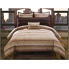 Linder 5 pc King Comforter Set, Taupe