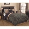 Hallmart Raymond 10 pc King Comforter Set, Blue Multi