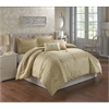 Waverly 5 pc King Comforter Set, Gold