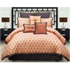 angelo:HOME Westgate 8 pc Queen Comforter Set, Spice