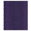 MiracleBind Notebook, College/Margin, 9 1/4 x 7 1/4, Purple Cover, 75 Sheets