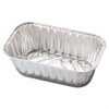 Handi-Foil of America Aluminum Baking Pan, #1 Loaf, 5 23/32 x 3 5/16 x 2 1/32, 200/Carton