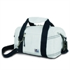 Newport Insulated 8-Pack CoolerBag, white w/blue trim