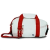 SailorBags Newport Insulated 8-Pack CoolerBag, white w/red trim