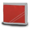 Chesapeake Wallet, red w/grey trim